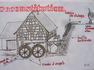 moulin Hundsbach fête 8  2003 0003